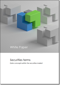 White paper - Concepts within securities (Dates)